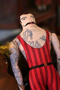 Mimi Kirchner - Tattoo man