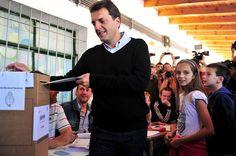 Uno de los candidatos en estas legislativas argentinas ejerció su derecho al sufragio (Foto: EFE)