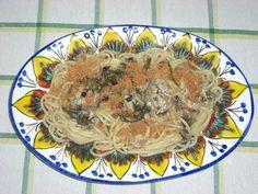 Spaghetti aux sardines et fenouil sauvage