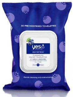 Must-have Makeup-Removing Wipes - Yes to Blueberries