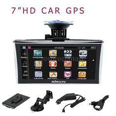 "7"" HD Touch Screen Portable GPS Navigator 128MB 4GB FM MP3 Video Play Map G6A4 - http://electronics.goshoppins.com/vehicle-electronics-gps/7-hd-touch-screen-portable-gps-navigator-128mb-4gb-fm-mp3-video-play-map-g6a4/"
