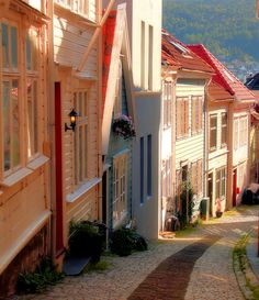 """""""Bergen, Norway (by Brian D. Bumby) """""""