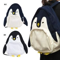 This item is shipped in 48 hours, included the weekends. Material: Canvas Measurements x x - 30 cm x 15 cm x 35 cm Care: Hand Wash Origin: Made in China Free Ems expedited shipping Penguin Bird, Penguin Party, Penguin Love, All About Penguins, Cute Penguins, Canvas Backpack, Cloth Bags, Laptop Bag, Purses And Bags