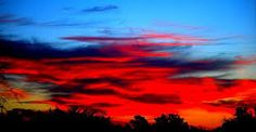 Image result for black and red sunset paintings Blue Sunset, Black Art, Northern Lights, Sunrise, Celestial, Nature, Travel, Outdoor, Viajes