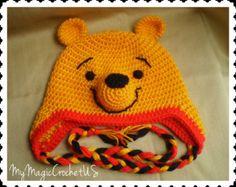 pooh hats crochet and pig hats - Google keresés