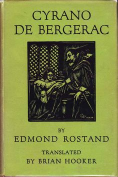 Cyrano de Bergerac - Edmond Rostand Vintage Books, Literature, Reading, Art, Literatura, Art Background, Old Books, Kunst, Reading Books