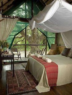 Kosi Forest Bedroom Interior