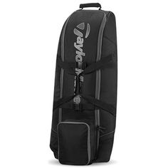 TaylorMade Golf TaylorMade Players XL Travel Cover 2016 Features: Accommodates all golf bags including staff bags 2 internal mesh pockets 2 exterior compression straps 360 Top and side padding for club protection Easy roll wheel system Skid plates for bag  http://www.MightGet.com/january-2017-11/taylormade-golf-taylormade-players-xl-travel-cover-2016.asp