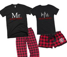 His and Hers Pajamas - 15 Sets of Matching PJs for Couples | Pjs ...