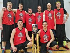 Team Infuriate Interathletic sports league Division 1 Champs.