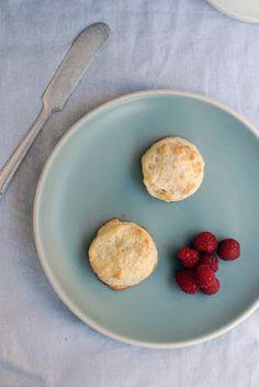 Creme Fraiche scones & a Peach Crumble (with oats & coconut sugar)  -   Darjeeling Dreams