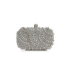 Poșetă de seară clutch argintie satin cu mărgele argintii Satin, Blog, Fashion, Moda, Fashion Styles, Satin Tulle, Fasion, Silk Satin