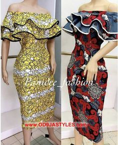 or Red ? ( swipe) Both dresses are available in size uk Price: Midi length off shoulder dress Call/whatsapp 233501099346 Worldwide delivery available at a charge Order/Pay/Receive African Fashion Ankara, Latest African Fashion Dresses, African Dresses For Women, African Print Dresses, African Print Fashion, African Attire, Latest Ankara Gown, Ankara Gowns, Africa Fashion