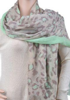 FabuLyss - Minty Fresh Leopard Scarf, $16.00 (http://www.fabulyss.com/minty-fresh-leopard-scarf/)