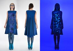 Behance, High Neck Dress, Gallery, Blue, Collection, Dresses, Fashion, Turtleneck Dress, Vestidos