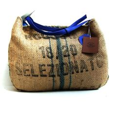 robusta from cameroun • recycled bag