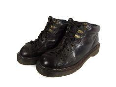 Vintage 90s Combat Boots - Size 6 US Mens - Size 6.5 US Womens ...