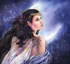 Estela by JannaFairyArt on DeviantArt   *   Fairy Myth Mythical Mystical Legend Elf Faerie Fae Wings Fantasy Elves Faries Sprite Nymph Pixie Faeries Hadas Enchantment Forest Whimsical Whimsy Mischievous