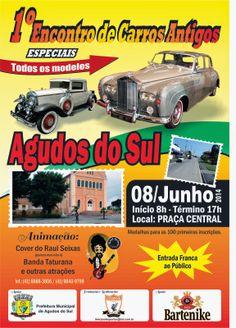 08/06 - 1º Encontro de Carros Antigos Especiais de Agudos do Sul - Agudos do Sul - PR http://mmmieventos.blogspot.com.br/2014/05/0806-1-encontro-de-carros-antigos.html