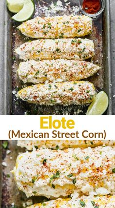 Corn Recipes, Side Dish Recipes, Vegetable Recipes, Mexican Food Recipes, Vegetarian Recipes, Dinner Recipes, Cooking Recipes, Healthy Recipes, Mexican Side Dishes