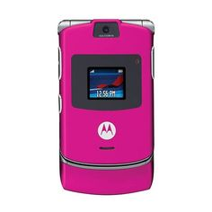 pink razr - old school cellphone, <3 Class & Couture ❤ liked on Polyvore featuring electronics, phones, cell phones, accessories and pink