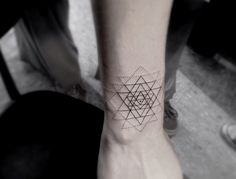 Triangle Tattoo | Geometric