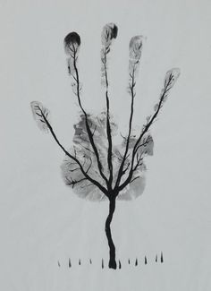 Cool art projects art artist pen and ink drawing mans hand tree art projects for toddlers . Art For Kids, Crafts For Kids, Kids Diy, Silkscreen, Ecole Art, Cool Art Projects, Project Ideas, Craft Ideas, Guy Drawing