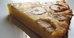 Gâteau invisible à la banane ww, recette facile et rapide d'un délicieux gâteau léger et fruité idéal pour le dessert ou pour accompagner votre café.