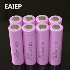 8 sztuk/partia Oryginalny 18650 3.7 V 2600 mAh li-ion akumulator ICR18650-26FM EAIEP bezpieczne baterii użytku Przemysłowego