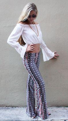Vala Exuma Slim Fit Pants - Boca Leche
