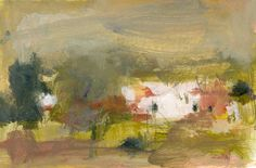 Paysage, Original painting on paper, $35