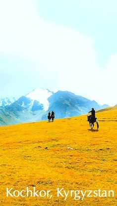 a horse trek through the mountains of Kyrgyzstan - off the beaten path travel