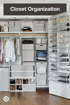 Bedroom Closet Design, Room Ideas Bedroom, Closet Designs, Room Decor, Closet Renovation, Closet Remodel, Small Closet Organization, Home Organization Hacks, Bedroom Organization