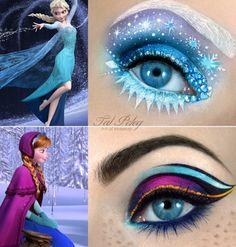 Frozen - Tal Peleg, make up artist.(Link to her official facebook page showing lots more of her brilliant make-up)