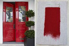 Best Exterior Outdoor Red Paint Colors, Benjamin Moore Heritage Red, Gardenista.jpg (731×495)