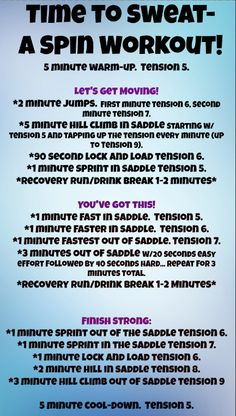 Spin Class Routine, Spin Playlist, Spin Bike Workouts, Studio Workouts, Cycling Workout, Cycling Tips, Road Cycling, Spinning Workout, Spin Bikes