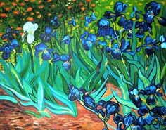 Vincent Van Gogh ~ Irises ♥ Shop for beautiful Van Gogh Gifts with Free U.S. Shipping