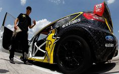 Tanner Foust - Tanner Foust Unveils Global Rallycross Hoon Kaboom Texas Course