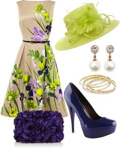 ideas garden party outfit ideas kentucky derby for 2019 Kentucky Derby Outfit, Derby Attire, Kentucky Derby Fashion, Derby Outfits, Tea Party Outfits, Derby Dress, Shorts Jeans, Pretty Dresses, Dress To Impress