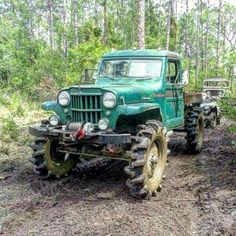 Old Willys Jeep Truck with tractor tires good idea! Jeep Pickup, Jeep 4x4, Jeep Truck, Cool Trucks, Pickup Trucks, Lifted Trucks, Vintage Jeep, Vintage Trucks, Willys Wagon