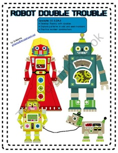 Robot Double Trouble product from G-Mama on TeachersNotebook.com