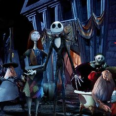 I got Jack Skellington Which Nightmare before Christmas Character are you?