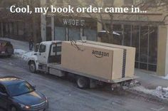 Well, that used to be me, before Kindle