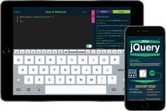 jQuery is the most popular #JavaScript library in use. Teach yourself #jQuery #coding on-the-go using the L2Code apps! Technology is our future!