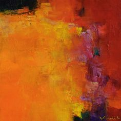 Small Box Painting 1086 - Original Oil Painting - 22.7 cm x 22.7 cm (app. 8.9 inch x 8.9 inch)