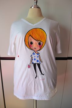 K.SY+ Exclusive Hand Painted Tshirt    Like www.facebook.com/ksyplus to win free