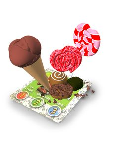 ARC: Food Augmented Reality interactive learning cards from Amagicland, 3D animations, sound & music. www.amagicland.com