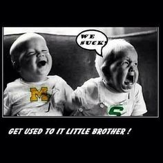 Love it! Go Blue