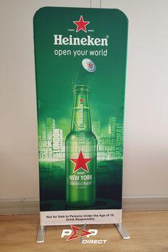 #heineken Wall Banner, Exhibition Display, Banner Printing, Banners, Pop, Heineken, Expo Stand, Popular, Pop Music