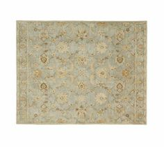 Have this in our dining room -- Gabrielle Persian-Style Rug, 10 x 14', Blue #potterybarn